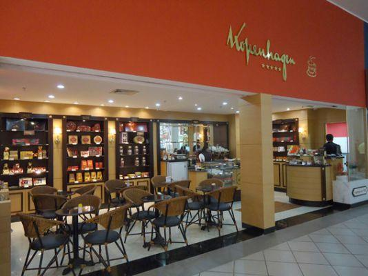 Chocolates kopenhagen Lojas