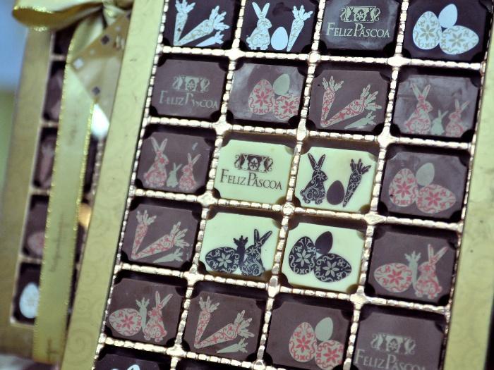 Marca tem várias opções de chocolate  (Foto: R7)
