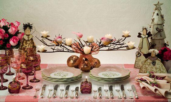 Como Decorar A Mesa De Um Almoço De Páscoa (Foto: Pinterest)