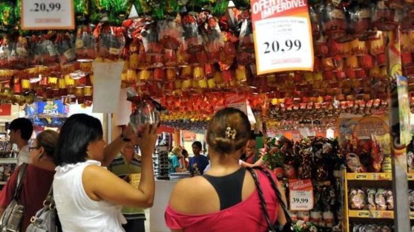 Compra Coletiva De Ovos De Páscoa (Foto: Exame/Abril)