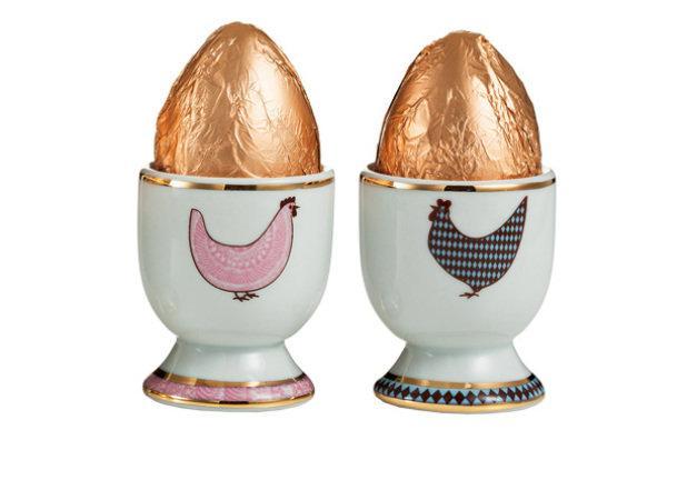 Ovos de galinha ou de coelho?  (Foto: Veja/Abril)