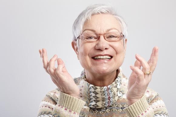 Cortes de cabelos para mulheres idosas. (Foto Ilustrativa)