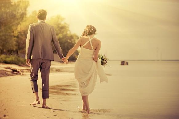 Decoração de casamento na praia: Faça você mesmo! (Foto Ilustrativa)