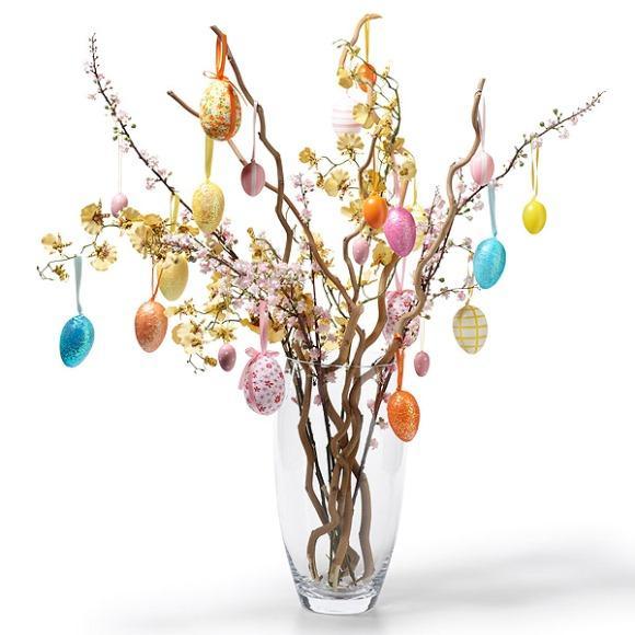 Árvore pascal. (Foto: Reprodução/Cosyhomeblog)