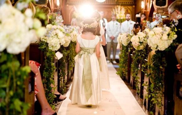 Decoração e tendências de casamento para Igrejas 2017