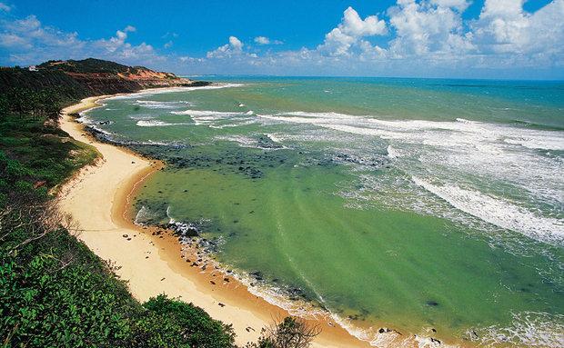 Praia do Amor, na vila da Praia da Pipa  (Foto Viaje Aqui/Abril)