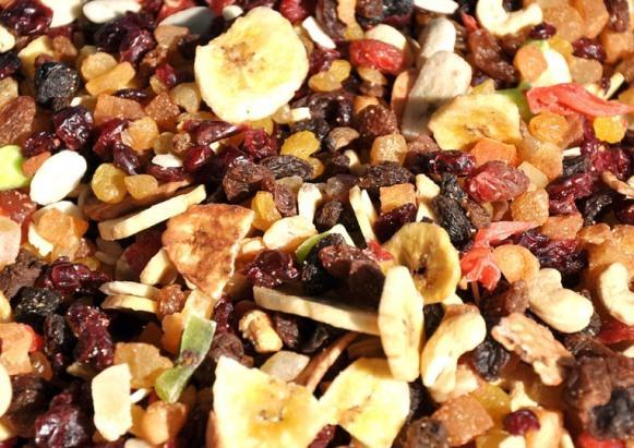 As frutas secas fazem bem para o capricorniano. (Foto Ilustrativa)