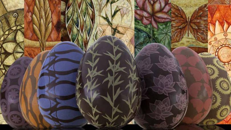 Embalagens para ovo de páscoa - Como fazer passo a passo (Foto: Exame/Abril)