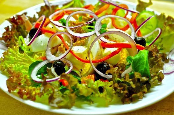 A alimentação saudável combate o efeito sanfona. (Foto Ilustrativa)