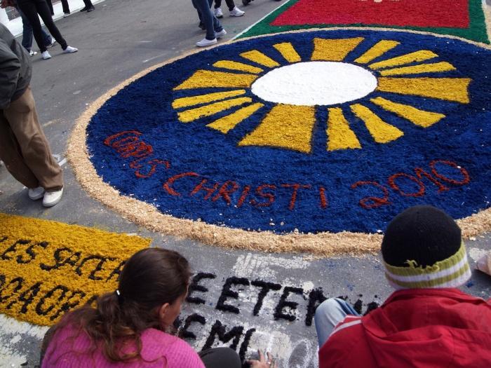 Feriado Corpus Christi 2016 - Significado, Tapetes