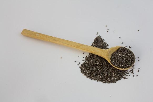 A chia é um grão repleto de nutrientes. (Foto Ilustrativa)