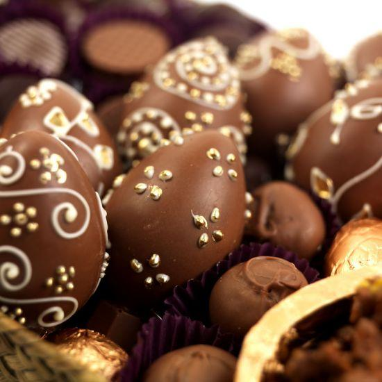 Ovos de chocolate (Foto Divulgação: MdeMulher)