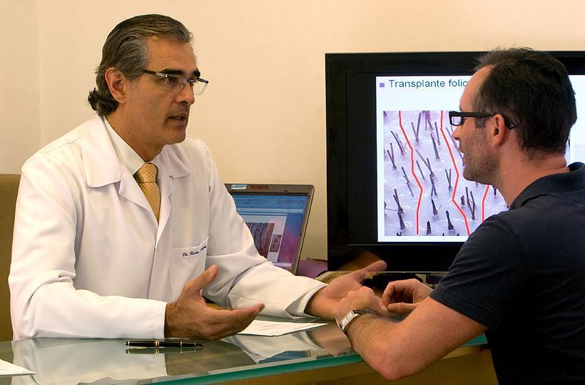 Implante Capilar Preços (Foto: Revista Viva Saúde/ Clínica Speranzini )