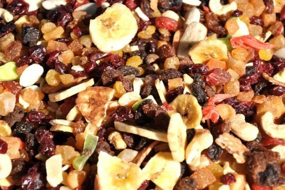 Inclua também as frutas secas na dieta. (Foto Ilustrativa)