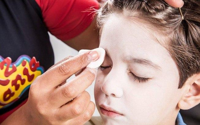 Maquiagem infantil para Páscoa (Foto: Reprodução/ Delizmakeup)