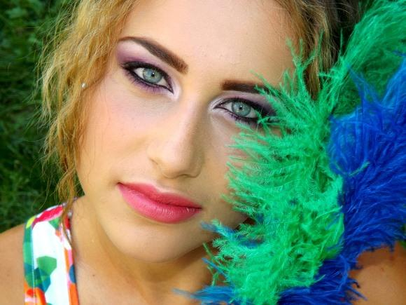 Maquiagens fáceis e práticas para carnaval 2016. (Foto Ilustrativa)