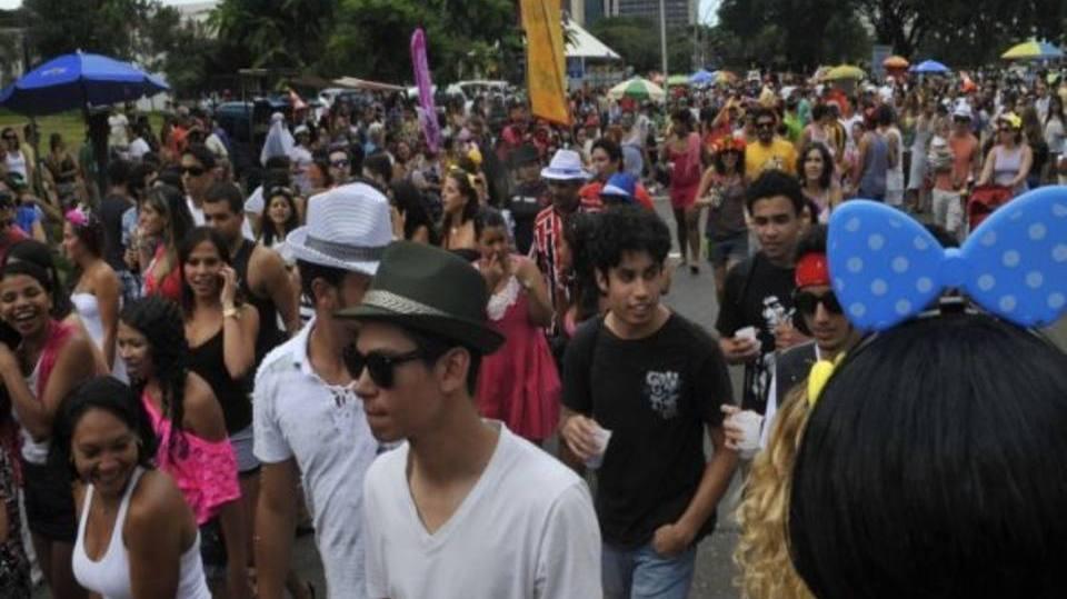 Carnaval era totalmente feito de blocos (Foto: Exame/Abril)