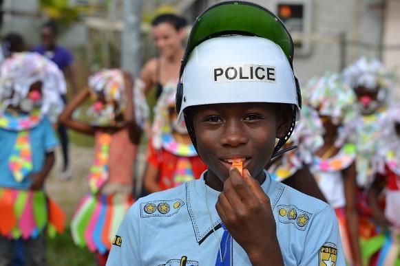 A criança só poderá participar do desfile com a autorização do responsável. (Foto Ilustrativa)