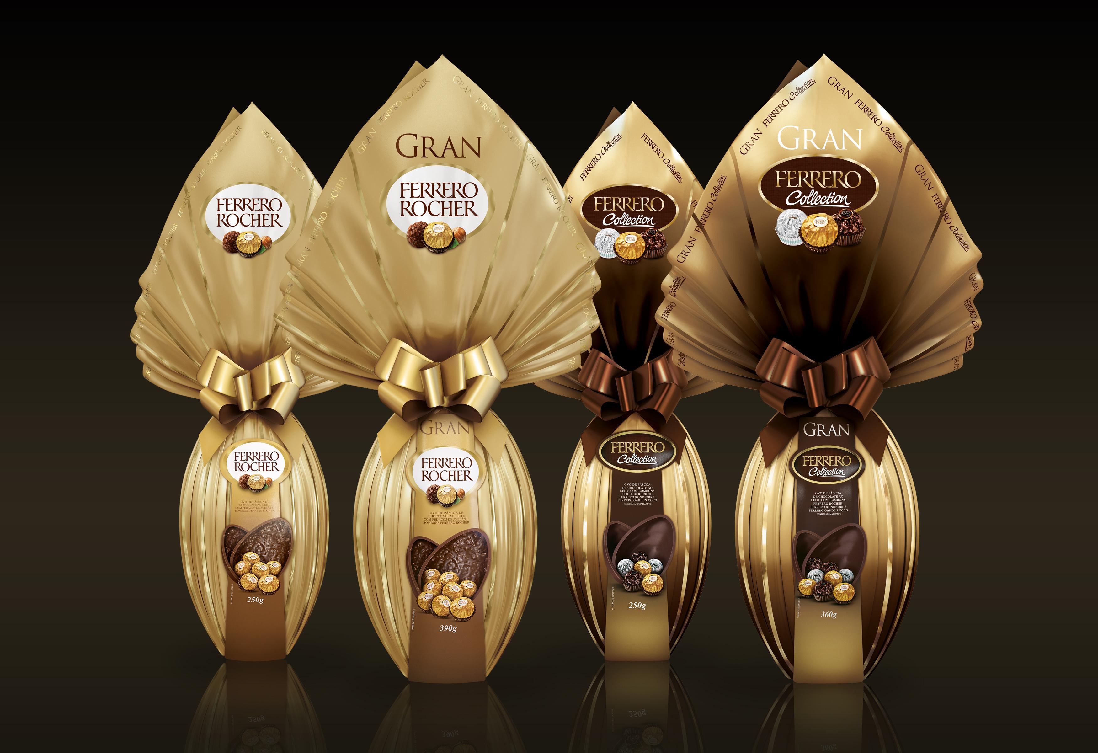 Ovo de Páscoa Ferrero Rocher (Foto: Divulgação/Ferrero Rocher)