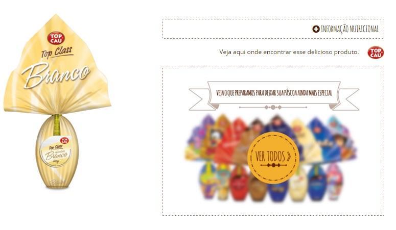 Ovos De Páscoa Top Cau (Foto: Divulgação/Top Cau)