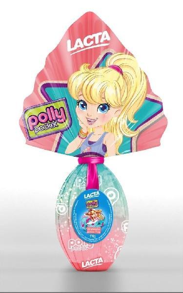 A Polly também faz a alegria das crianças nessa Páscoa (Foto: Lacta)