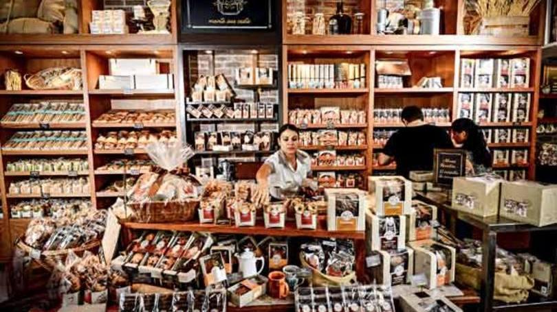 Até loja da marca em São Paulo já se preparou para a páscoa (Foto: Exame/Abril)