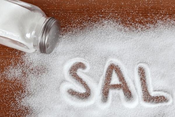 Sal derramado