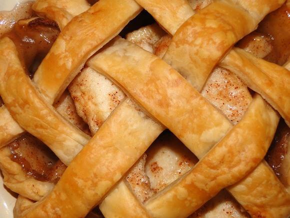 Torta de maçã americana. (Foto Ilustrativa)