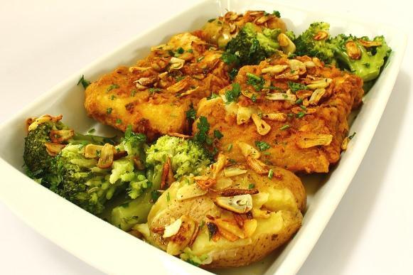 Um delicioso bacalhau de forno. (Foto Ilustrativa)