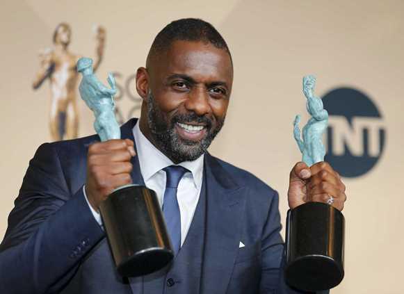 Idris Elba levou 2 prêmios. (Foto: Divulgação)