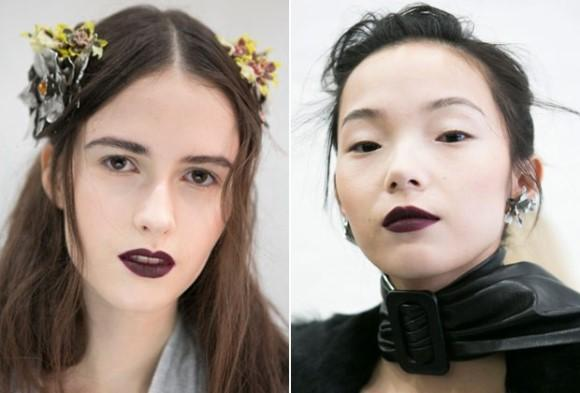 Os olhos sem maquiagem correspondem a uma tendência. (Foto: Reprodução/Imaxtree)