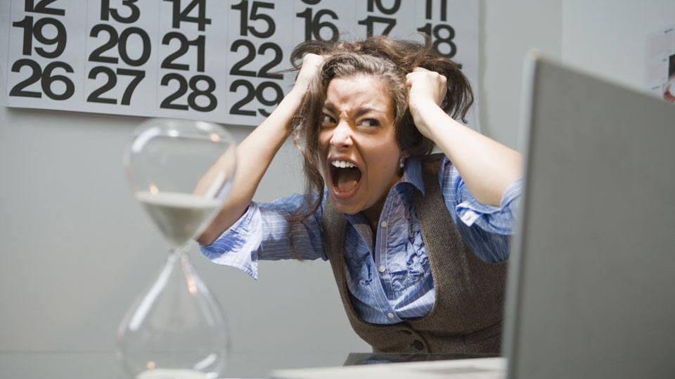 Estresse pode ser um dos motivos (Foto: M de Mulher/Abril)