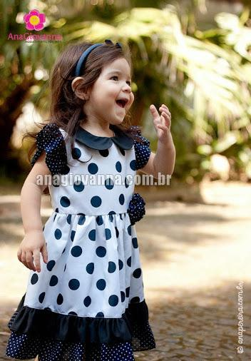 Vestidos de festa infanti(Imagem anagiovanna moda infantil)