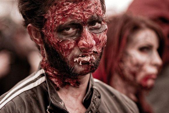 Maquiagem de zumbi (Foto Ilustrativa)