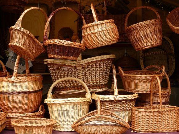 As cestas de vime são as ideais para montar o kit (Foto Ilustrativa)