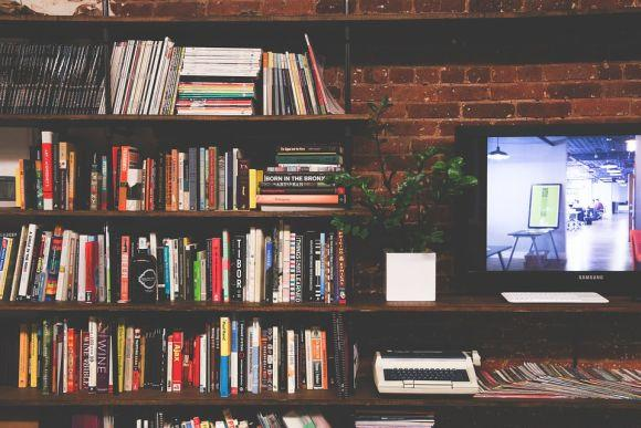 Uma estante cheia de livros pode diminuir os barulhos vindos de fora da casa (Foto Ilustrativa)