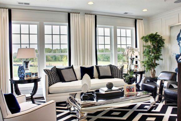 Há vários estilos de decoração preto e branco (Foto Ilustrativa)