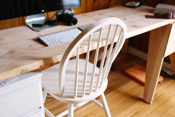 Reaproveite móveis antigos no seu escritório doméstico (Foto Ilustrativa)