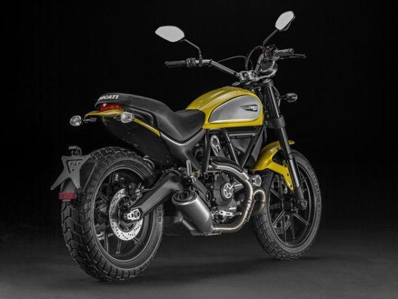 A nova moto da Ducati reúne o passado e o futuro em um só modelo (Foto: Divulgação Ducati)