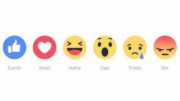 Facebook libera novos botões para curtir (Foto: Divulgação Facebook)