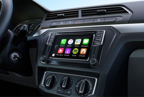 Uma das principais novidades é o sistema App-Connect (Foto: Divulgação Volkswagen)