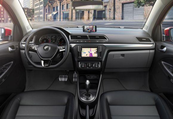 A novidade deixa o carro muito mais conectado (Foto: Divulgação Volkswagen)