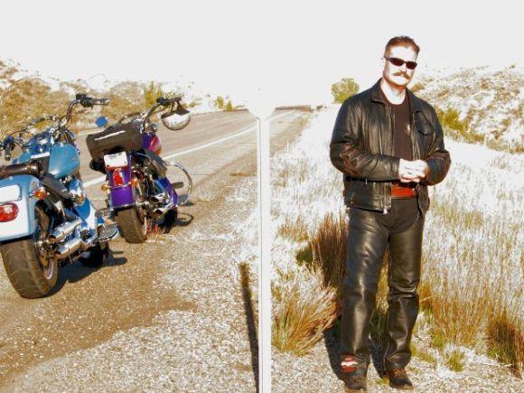 Os motociclistas adoram um visual todo de couro (Foto Ilustrativa)