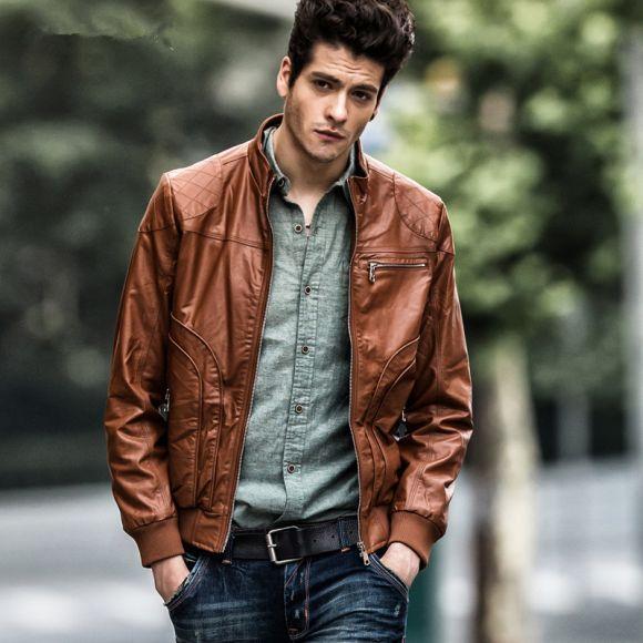 A jaqueta de couro pode ser usada nas mais variadas ocasiões (Foto Ilustrativa)