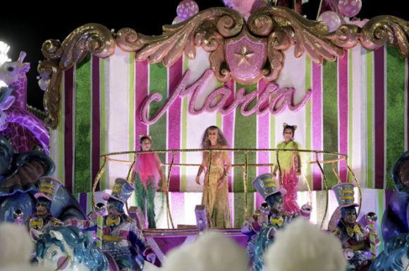 A Mangueira ganhou o carnaval 2016 do Rio (Foto: Divulgação Estação Primeira de Mangueira)