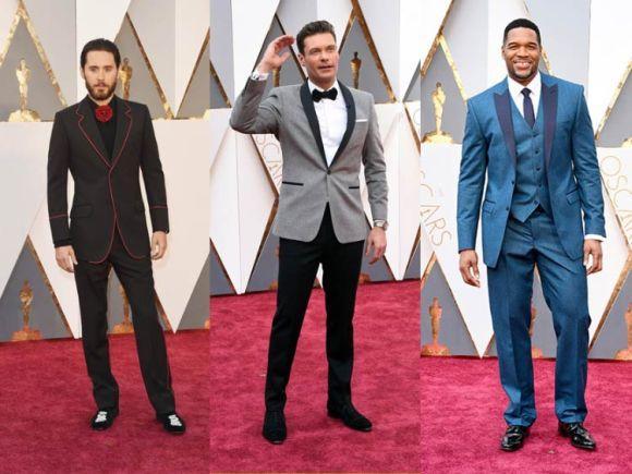 Looks masculinos do Oscar 2016 (Foto Ilustrativa)