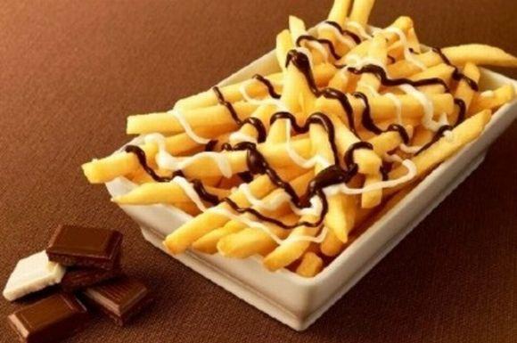 McDonald's lança batatas fritas com chocolate