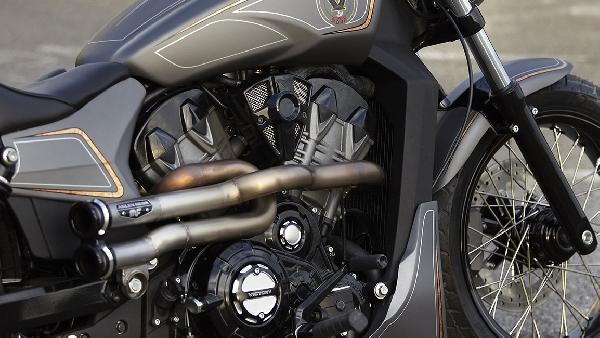 A novidade traz um motor refrigerado a líquido (Foto: Divulgação Victory Motorcycles)