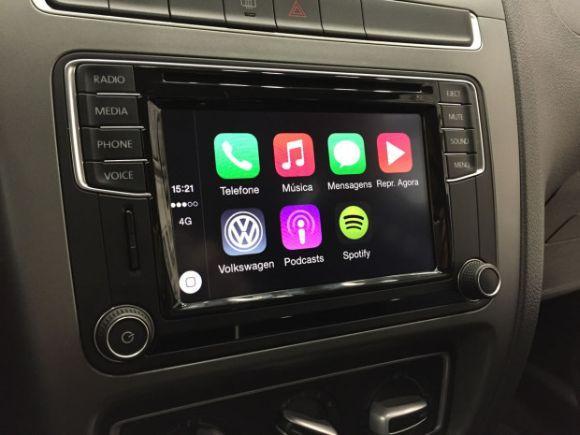 A VW promete lançar o melhor sistema de conectividade para carros do país (Foto: Reprodução VW)
