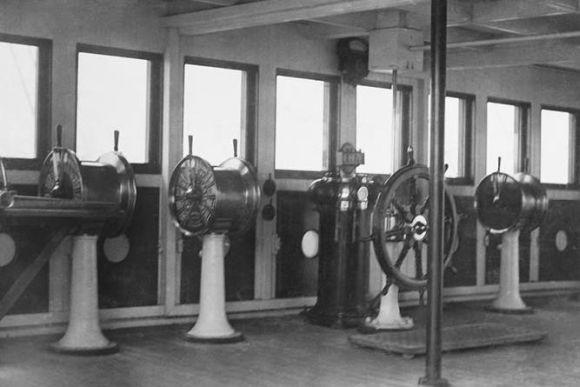 A torre de comando original (Foto Ilustrativa)
